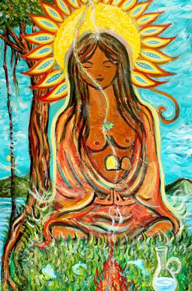 Diosa del Sol ༄ Sun Goddess