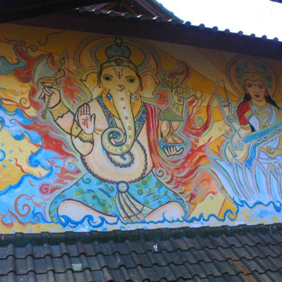 Divine Art Mural ༻